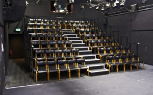 Network Theatre in End-on Layout (Photo by Paul H. Lunnon)
